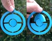 3D Printed Spinning Pokéstop Ornament