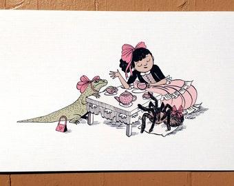 Print - Tea party