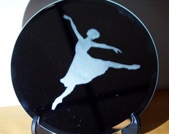 Dancer Etched Mirror