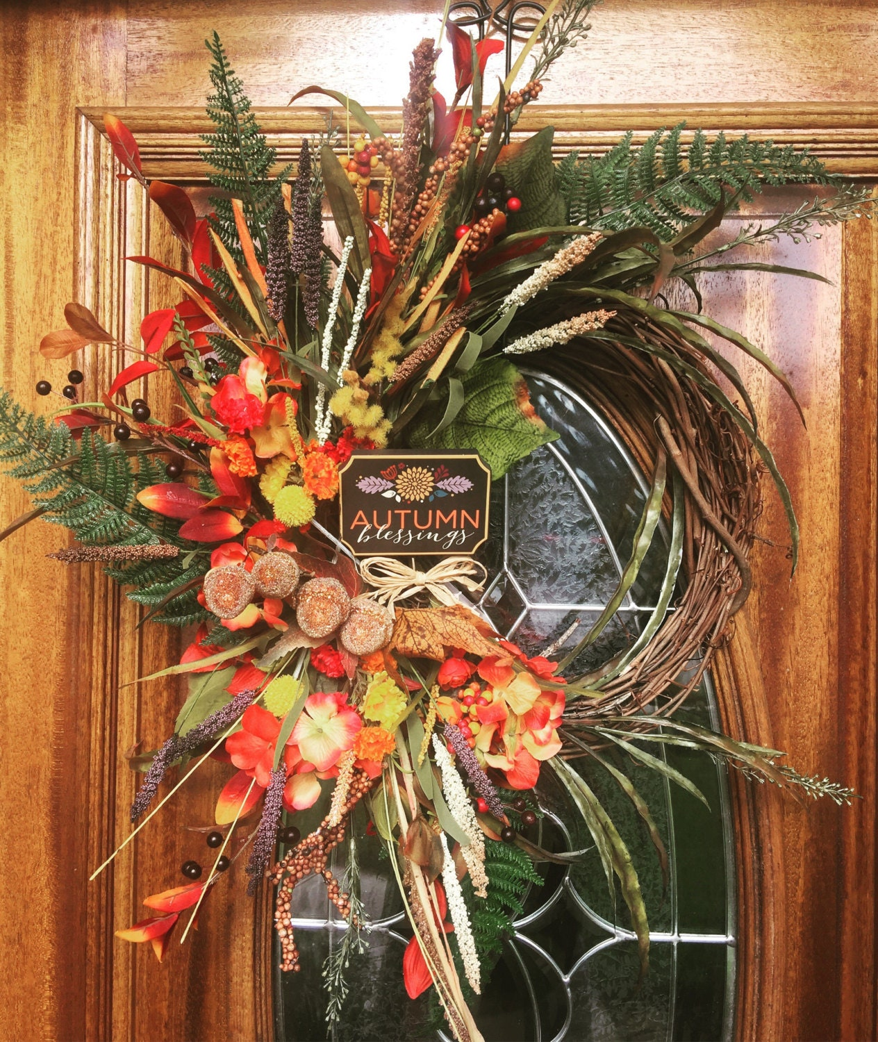 Fall wreaths for front door fall door wreaths fall door Fall autumn door wreaths