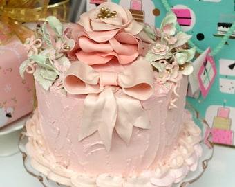 Princess Karen Faux Cake