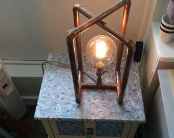 Copper Pipe - GLOBE RETRO LAMP