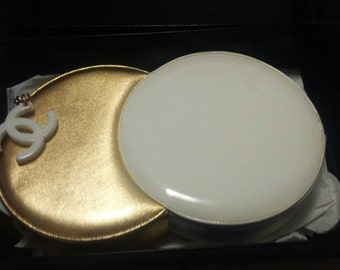 Chanel Vintage Double Circle Clutch Very Rare