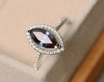 Alexandrite Ring | Etsy