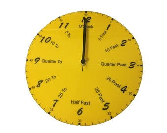 Can Your Children Read A Real Clock? This Will Help To Teach Them
