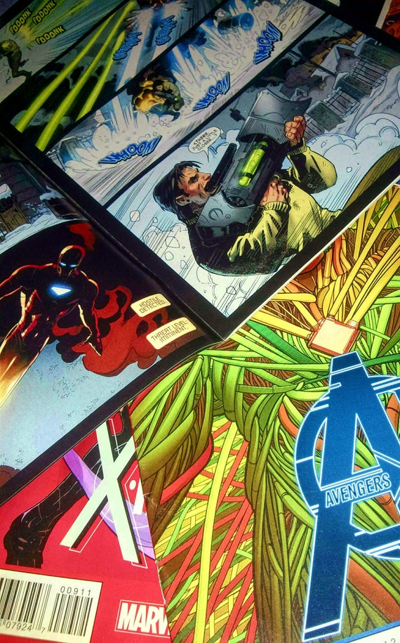 Custom Comic Book Canvas Art Marvel / DC Graphic Canvas by