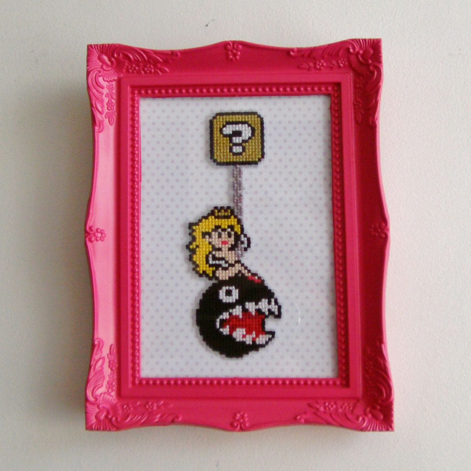 Princess Peach Wrecking Ball Pixel Art