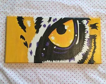 Tiger Eye Canvas