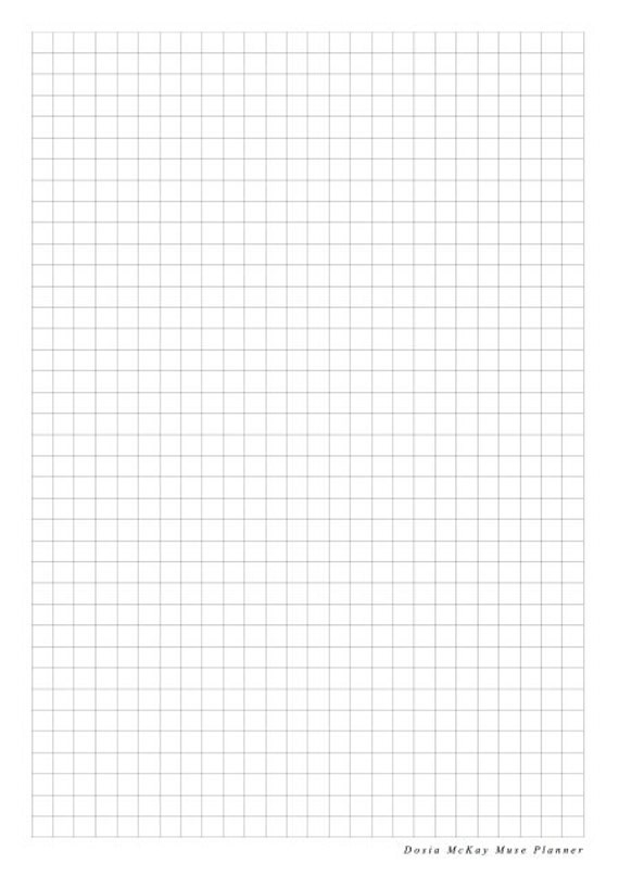 Graph Paper Insert for Muse Planner Journal Diary Notebook – Diary Paper Printable