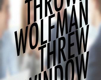 Thrown Wolfman Threw Window
