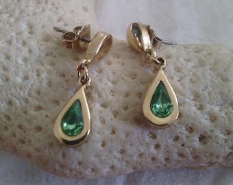 Teardrop Vintage Avon Earrings