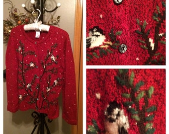 Coldwater Creek Winter Sweater, Size L