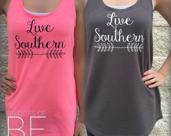 Live Southern™ Exclusive Terry Racerback Tank Top
