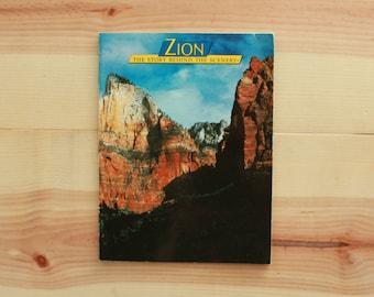 Zion National Park Photo Book
