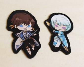 Tales of Zestiria Mini Magnets