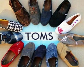 Toms Custom Hand Painted Shoes Anything You Want