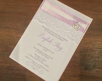 Christening/Baby Shower/Engagement/Wedding Invitation
