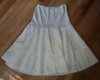 50s Petticoat / 50s Slip / 50s Rockabilly Pin Up  / 50s Lingerie / Vintage Slip