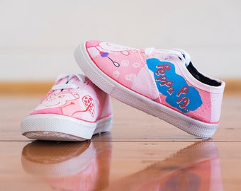 Peppa Pig Kids Custom Shoes