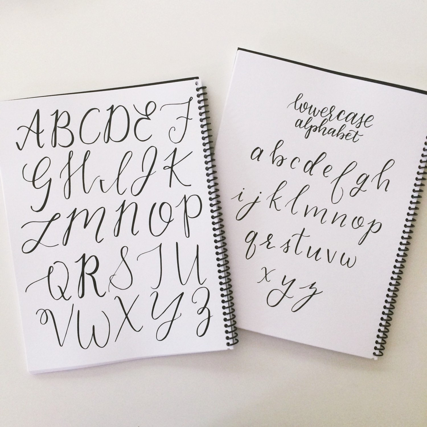 Printable calligraphy alphabet practice sheets free