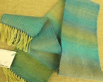 Hand-Woven Jewel-Toned Scarf