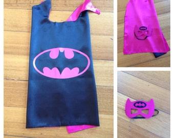 Kids Cape & Mask Set - Batgirl