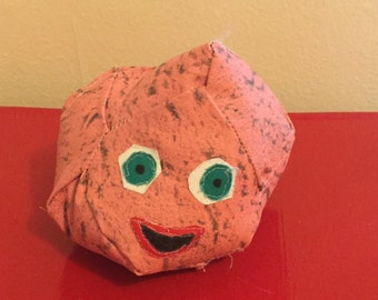 Stuffed Mars Rock with Face