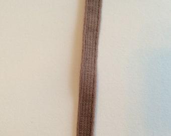 Dark Dusky Pink 1cm Wire Casing (1m)