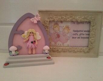 Free standing fairy door