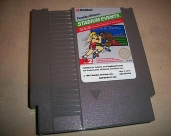 Stadium Events NTSC NES Nintendo reproduction Game