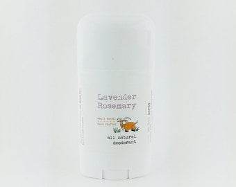 Lavender Rosemary All Natural Deodorant
