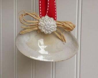 Seashell Christmas Tree Ornament