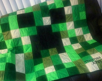 Minecraft Quilt Full Size