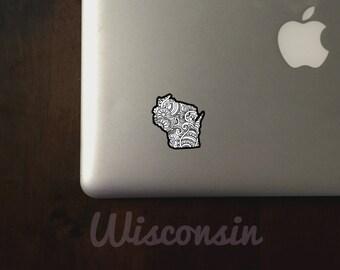 Wisconsin State Sticker