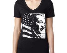 Martin Luther King MLK Day V-Neck Tshirt