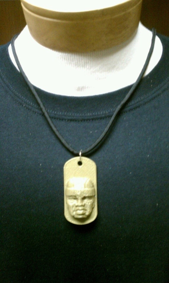 Olmec Stone Pendant of a Jaguar's Head - PF.3358 For Sale ... |Olmec Head Necklace
