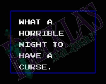 Castlevania 2: Horrible Night | Morning Sun Twin Cross-Stitch Pattern Pack PDF