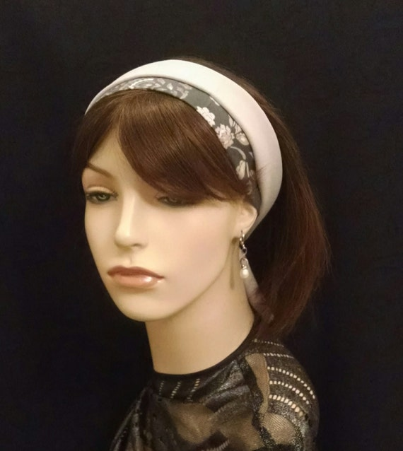 Stunning and simple crepe de chine headband