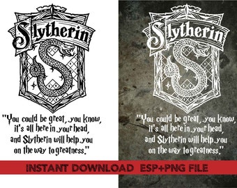 Slytherin   Home quote Clip Art,T shirt, iron on , sticker, Vectors files ,Personal Use
