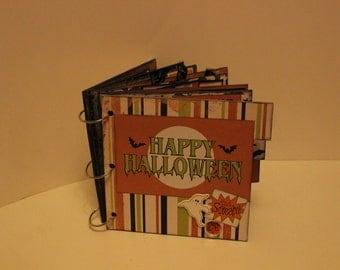 Halloween Scrapbook Mini Album