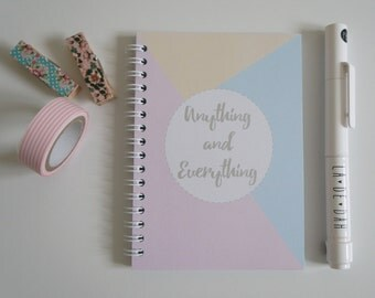 A6 Notebook 'Anything and Everything'