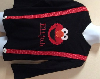 Elmo birthday shirt - personalized