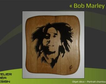 """Portrait fretwork """"Bob Marley"""""""