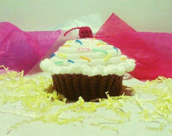 Cupcake Hat (Chocolate)