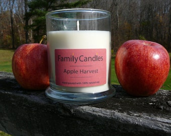 Family Candles - Apple Harvest 10 oz Soy Candle