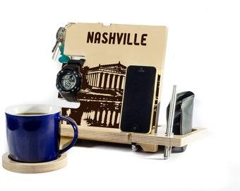 Tennessee Nashville city map decor nashville home nashville gift nashville design nashville wood nashville tn sign decal predators