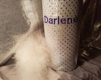 Monogrammed, Yetii Tumbler Cup Cover for 20 oz