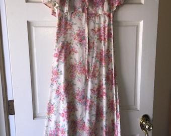 Vintage 20's/30's handsewn dress