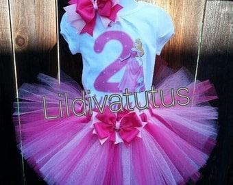 Handmade Sleeping Beauty, Princess Aurora Tutu Set