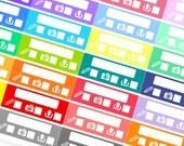 Blog Upload Bars - Planner Stickers (SKU046)